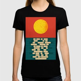 Sun Over The Sea - Afternoon T-shirt