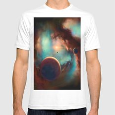 Planets unknown road trip White Mens Fitted Tee MEDIUM