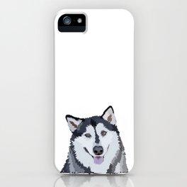 Alaskan Malamute iPhone Case