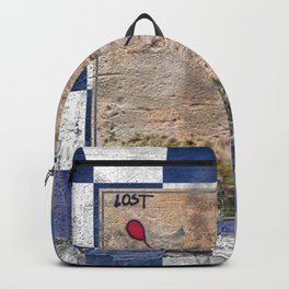 Lost - blue graphic Backpack