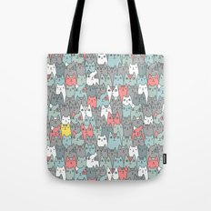 Cats family Tote Bag