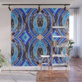 Blue Royalty Wall Mural