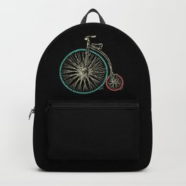 Cycling Forever | Penny Farthing High Wheel Backpack