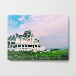 Ocean House Hotel in Watch Hill Rhode Island Metal Print