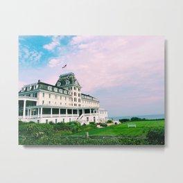 Ocean House Hotel in Watch Hill Rhode Island Metal Print
