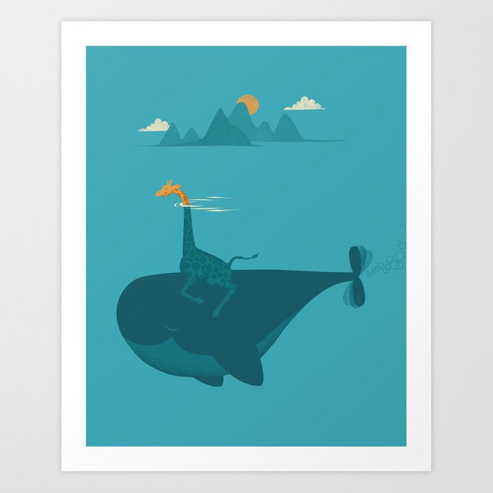 Nature's Submarine Art Print