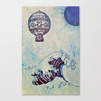 voyage Canvas Prints featuring Voyage by Cullen Rawlins