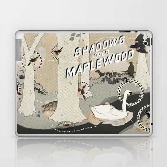 shadows over maplewood Laptop & iPad Skin