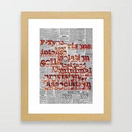F-Type Prisons Framed Art Print