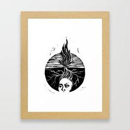 Child of the Earth Framed Art Print