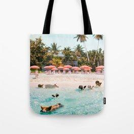 Pig Beach 2 Tote Bag