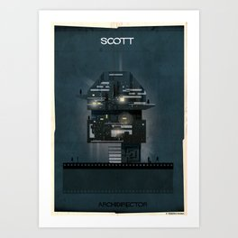 024_ARCHIDIRECTOR_Ridley Scott Art Print