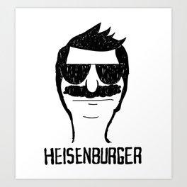 Breaking Bob - Heisenburger Art Print