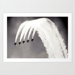 Plane / Blue Angels Jets Art Print