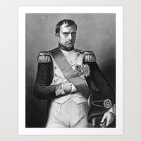 napoleon Art Prints featuring Napoleon by Palazzo Art Gallery