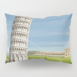 Tower of Pisa Pillow Sham