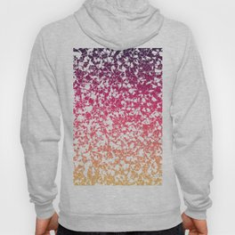 Terrazzo in pink, purple and yellow colors Hoody