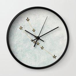 Taurus x Astrology x Zodiac Wall Clock