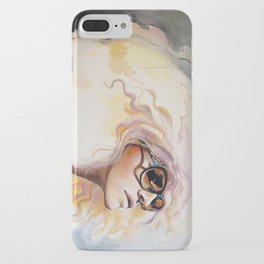 Lavender Heat iPhone Case