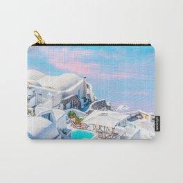 Greece Dreams, Tropical Travel, Architecture Building Cityscape, Landscape Photography Ocean Carry-All Pouch