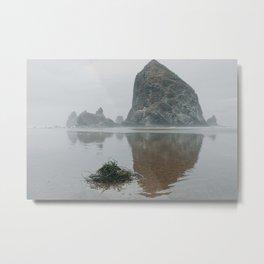 Haystack Rock- Oregon, USA Metal Print