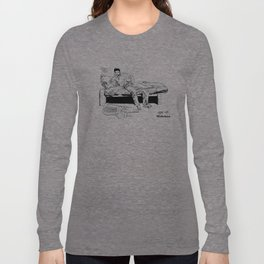 Leopoldo en la carraca Long Sleeve T-shirt