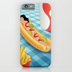 Hot Dog Girl iPhone 6s Slim Case