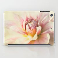 dahlia iPad Cases featuring dahlia by lucyliu
