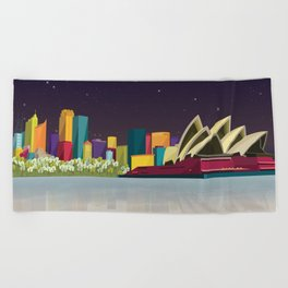 City Sydney Beach Towel