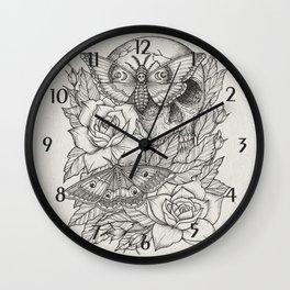Acherontia Wall Clock