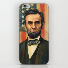 Abe Lincoln iPhone Skin