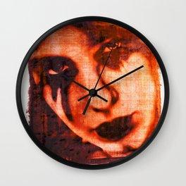 Lost Love Dye Art Print Wall Clock
