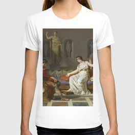 Cleopatra and Octavian T-shirt