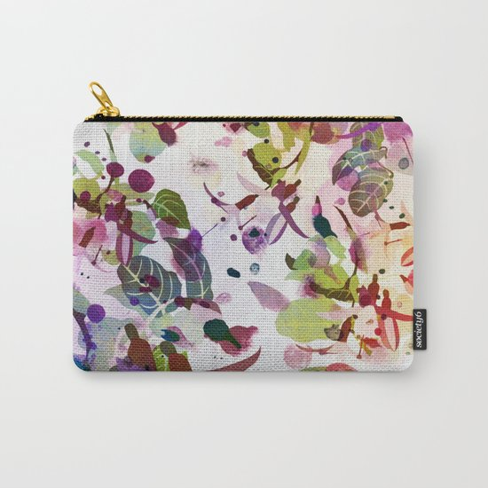 multicolore abstract fuchsia Carry-All Pouch