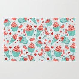 Valentine's sweets - Pastel Rug
