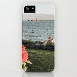The Round Island Light iPhone Case