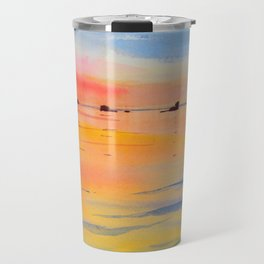 Lake Malawi sunset Travel Mug