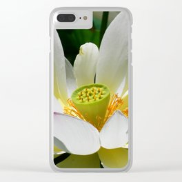 Beauty-0 Clear iPhone Case