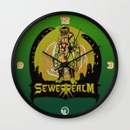 Sewer Realm (Org) Wall Clock