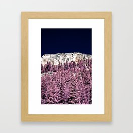 Yosemite In Infrared Framed Art Print