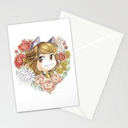Hearty kitty Stationery Cards
