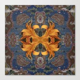 Lilium unravelling Canvas Print