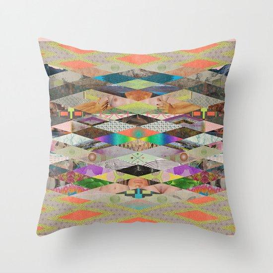 RHOMBOID SEX Throw Pillow