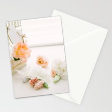 Flowers and Birdcage Stationery Cards