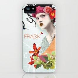 FRASK techno iPhone Case