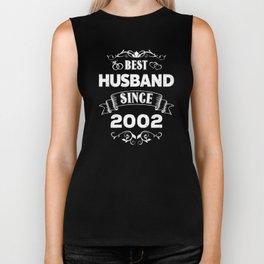 Best Husband Since 2002 Biker Tank