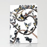 tits Stationery Cards featuring Tits of the World by Jada Fitch