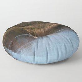 Gone Fishing Floor Pillow
