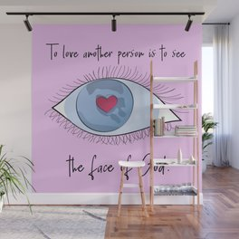 Les Miz: To love another person Wall Mural