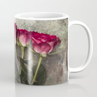 roses Mugs featuring Roses by Maria Heyens